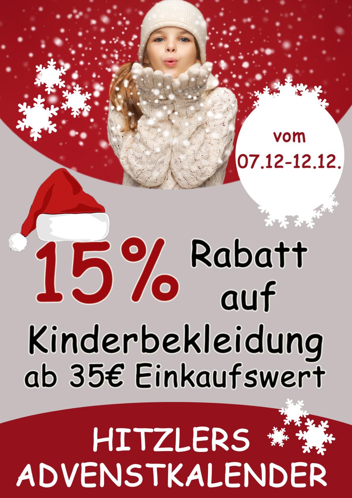 15% Rabatt Auf Kinderbekleidung Ab 35€ Einkaufswert