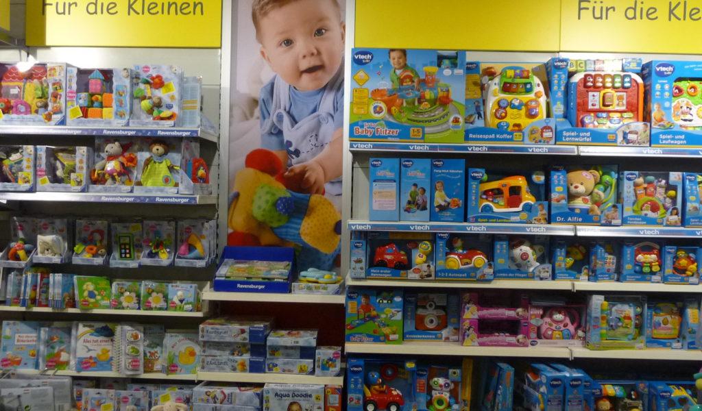 Spielwaren für die Kleinen