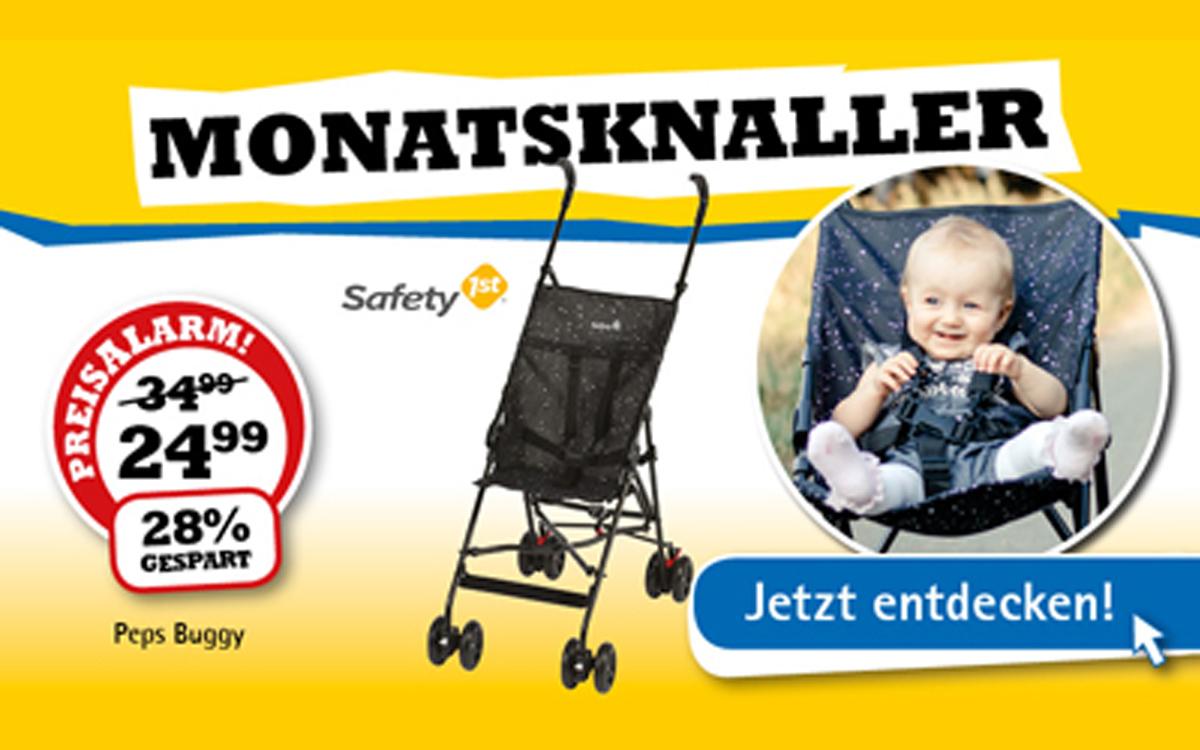 Monats-Knaller Baby