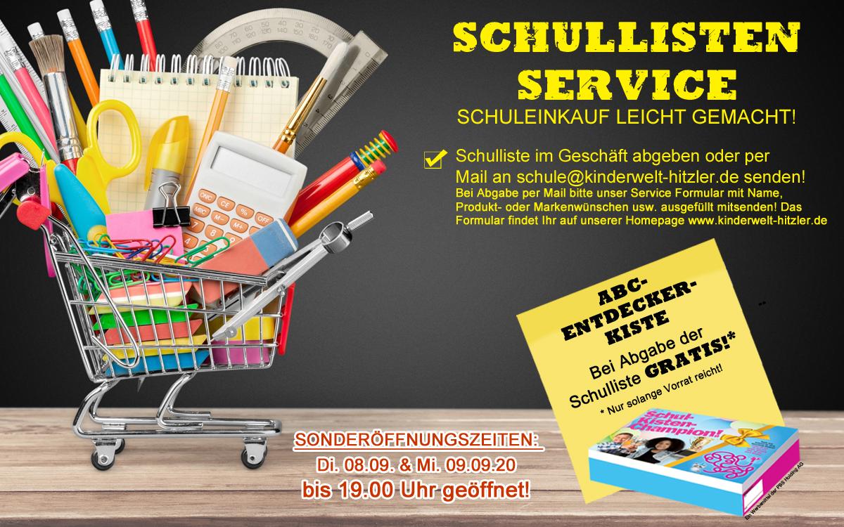 Schullisten Service