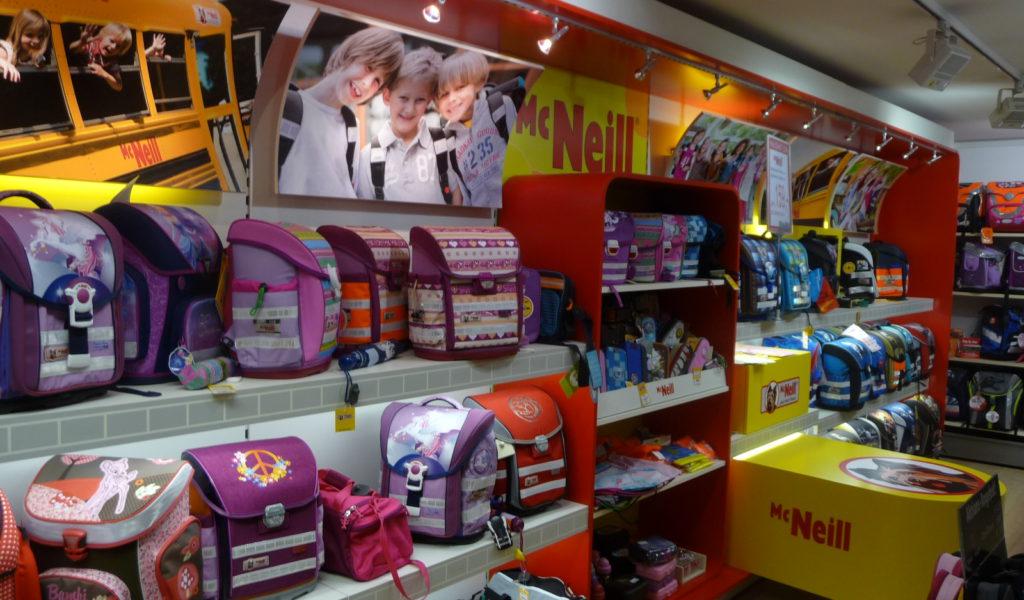 Schultaschen Shop McNeill