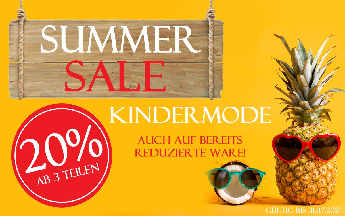 Summer Sale Kindermode