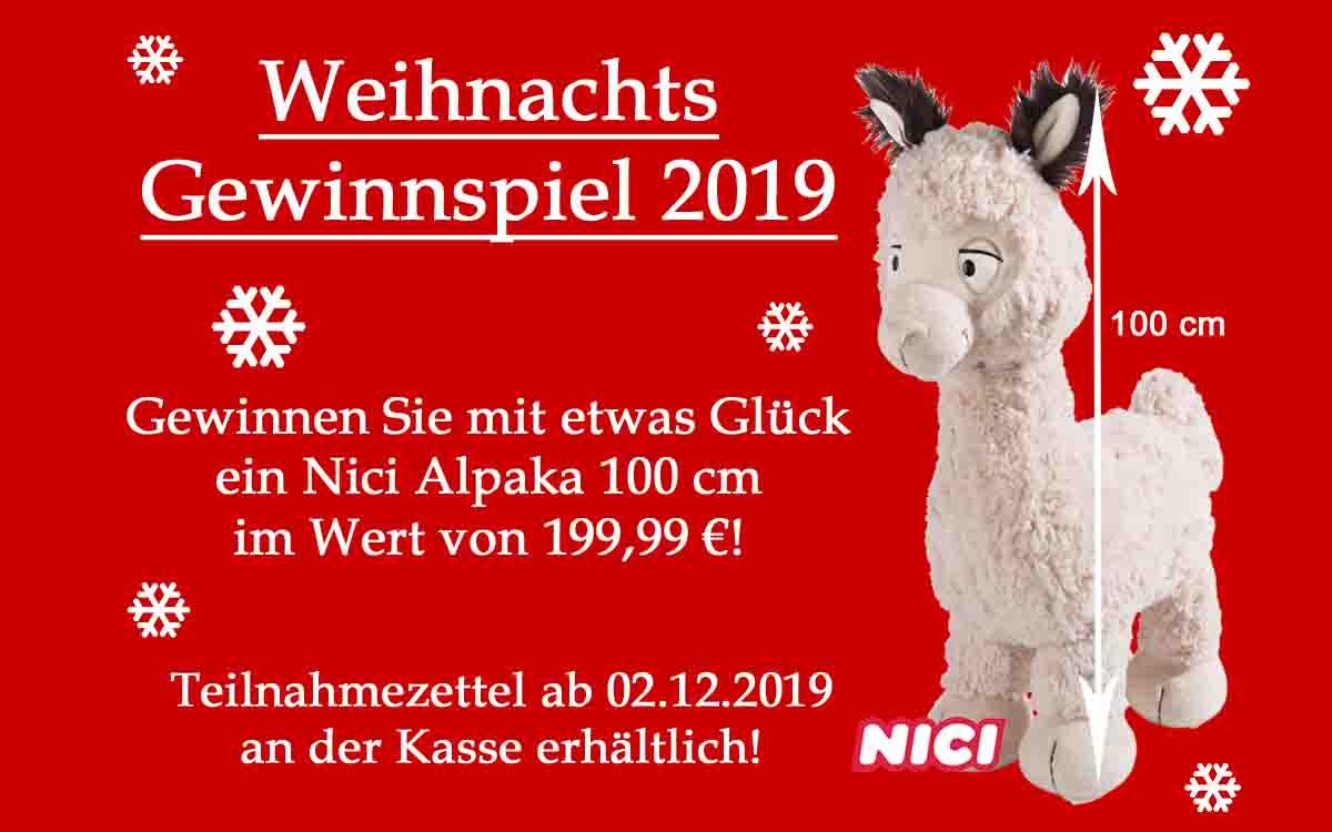 Weihnachts Gewinnspiel 2019
