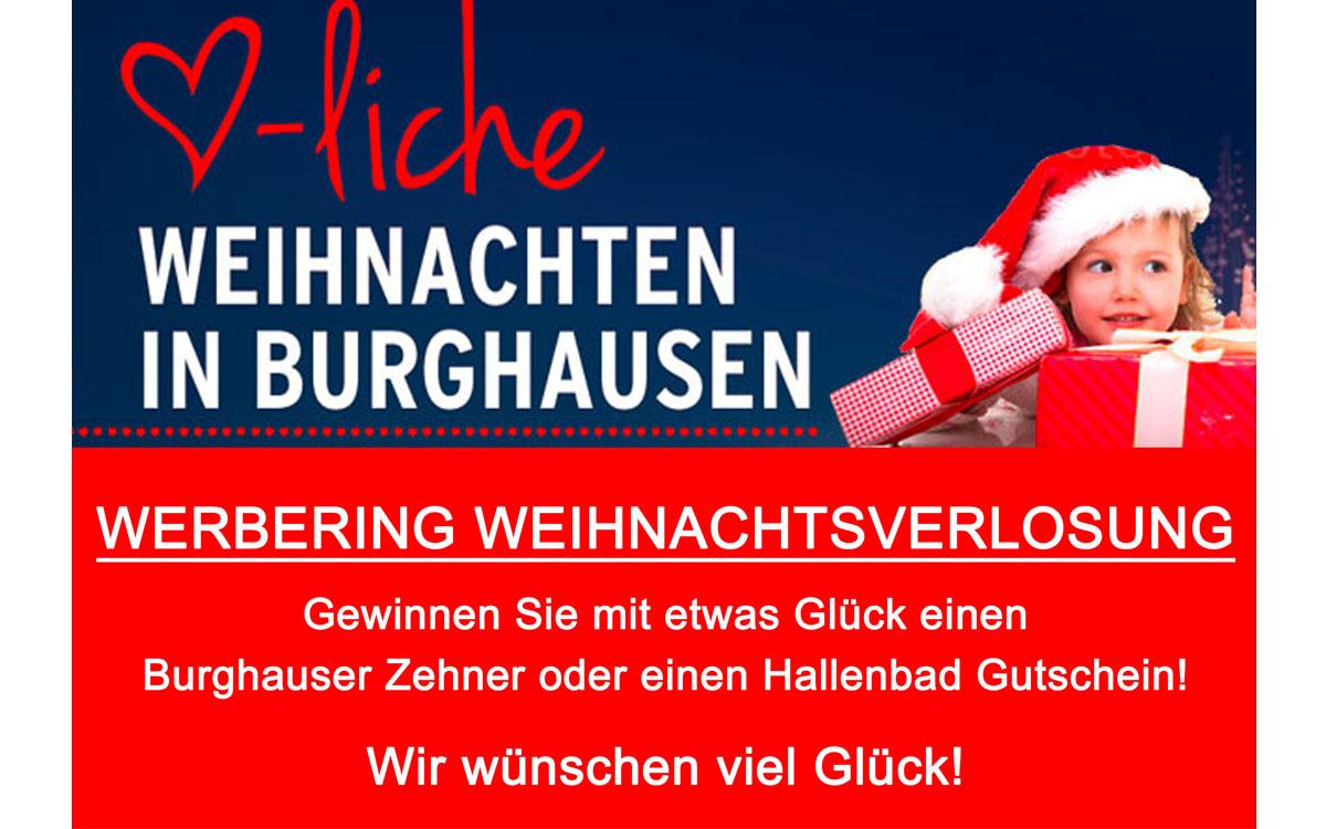 Werbering Weihnachtsverlosung