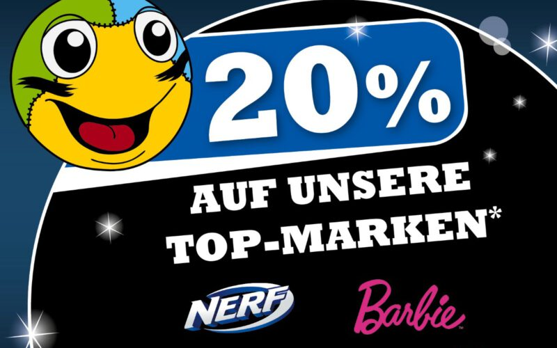 20% Auf Unsere Top-Marken